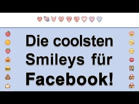 Emoji Smileys auf Facebook - auch am PC!