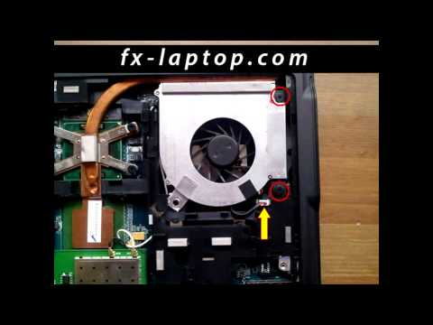 Disassembly Acer Aspire 5610z - replacement, clean, take apart, keyboard, screen, battery