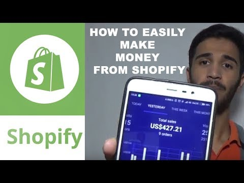 How To Make 1000$ a day from Shopify   Earn Money Online   Shopify In India/ Hindi   Chirag Sharma