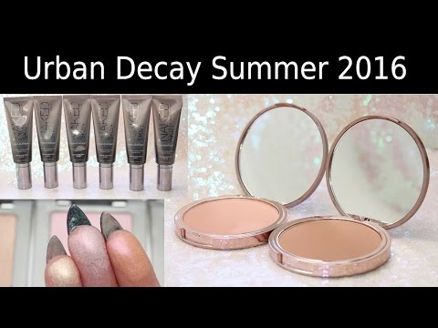 First Look! New Urban Decay Summer 2016 + Swatches