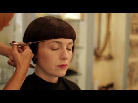 The Bob Haircut ( a Short bangs )