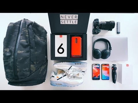 THE ULTIMATE TECH TRAVEL PACK - ONE PLUS 6 EDITION!