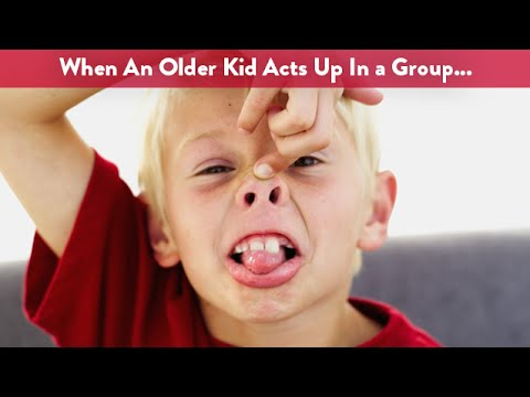 What To Do When Your Kid Misbehaves In A Group?   CloudMom