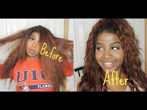 HOW TO REVIVE YOUR OLD, DRY, AND BRITTLE WEAVE| SILICONE MIX REVIEW