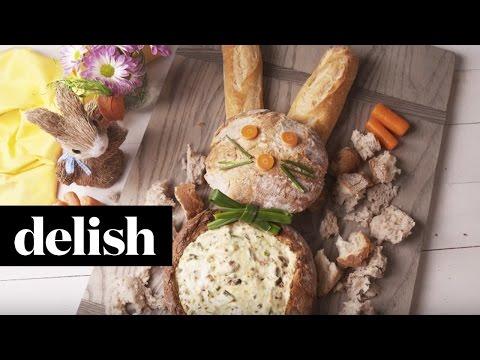 How To Make A Bunny Bread Bowl Dip   Delish
