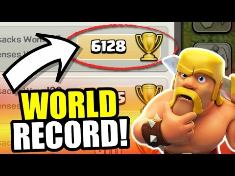 WORLD RECORD!! 🔥 Town Hall 10 Close To 6000 Trophy's!!! 🔥 Clash Of Clans