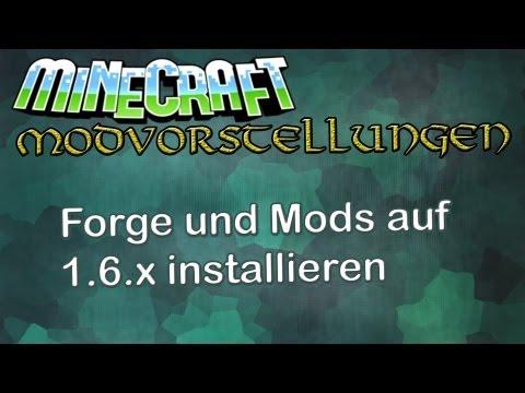 Forge und Mods installieren - Minecraft 1.6.2 [Tutorial]