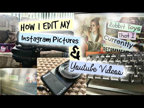 HOW I EDIT My Instagram Photos & YouTube Videos | RosieBunneh