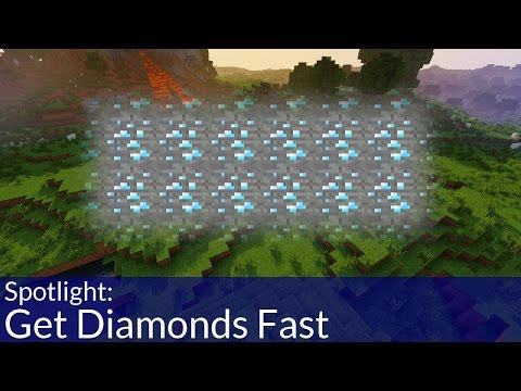 Fastest Way to Find Diamonds in Minecraft