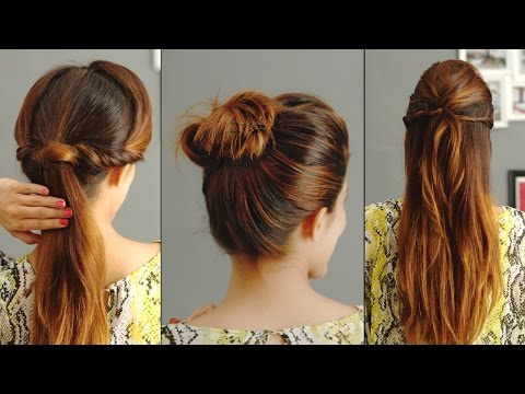 3 Quick And Easy Hairstyles For Greasy Hair