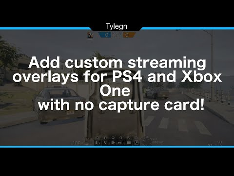 Stream Overlays for PS4, XBox One with no capture card!!! FREE!!