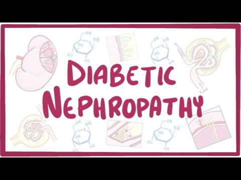 Diabetic Nephropathy- causes, symptoms, diagnosis, treatment, pathology