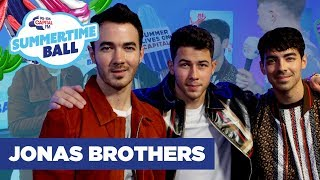 Jonas Brothers Create A Band For Their Wives | Capital