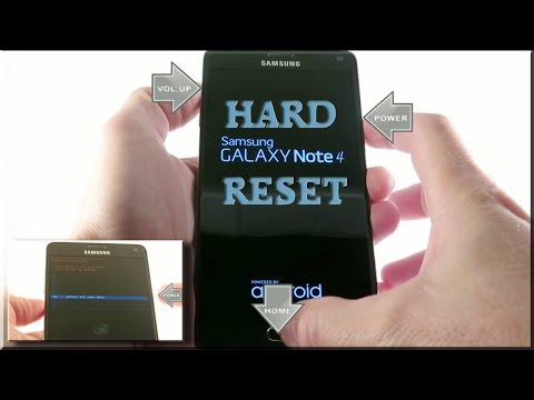 Samsung Galaxy Note 4 Hard Reset (Factory reset)