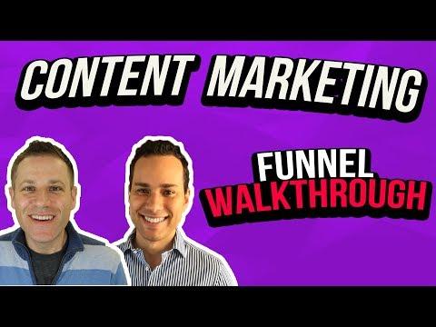 Content Marketing Funnel Walkthrough
