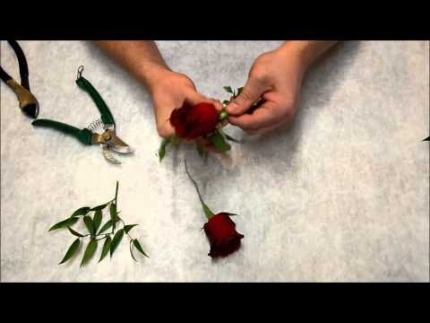 How to: Corsage for a Wedding or Prom