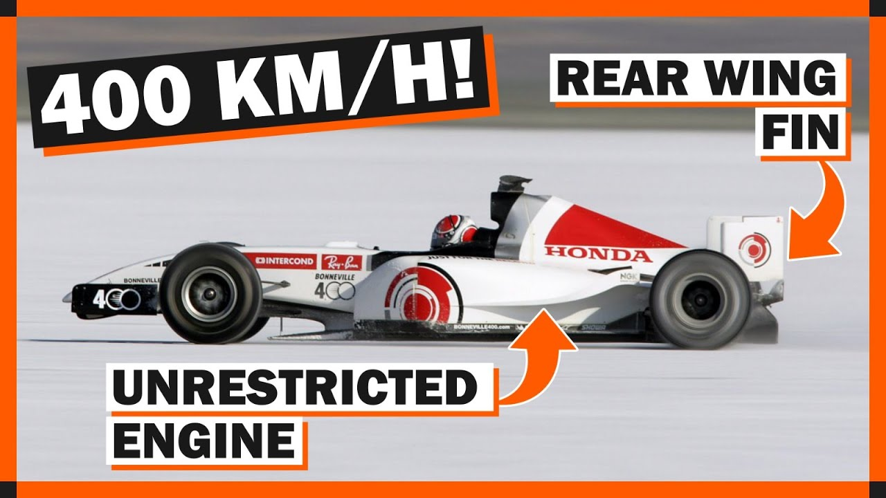 The Crazy Formula 1 Car That Went Over 400km/h