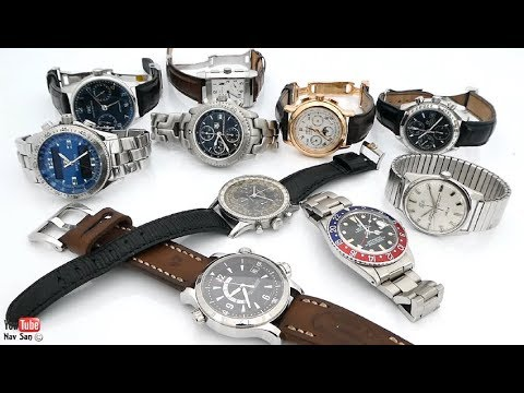 My never to sell watch collection, Rolex, TAG Heuer, Zenith, IWC, Breitling, Jaeger LeCoultre