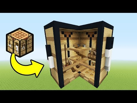Minecraft Tutorial: How To Make A Crafting Table House