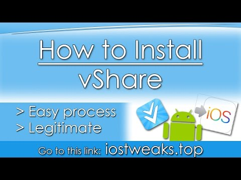 how to install vshare without a computer [Updated]