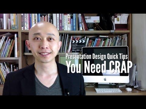 Presentation Design Quick Tips  You Need CRAP
