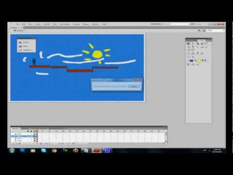 How to make a flash game in adobe flash cs5 Tutorial