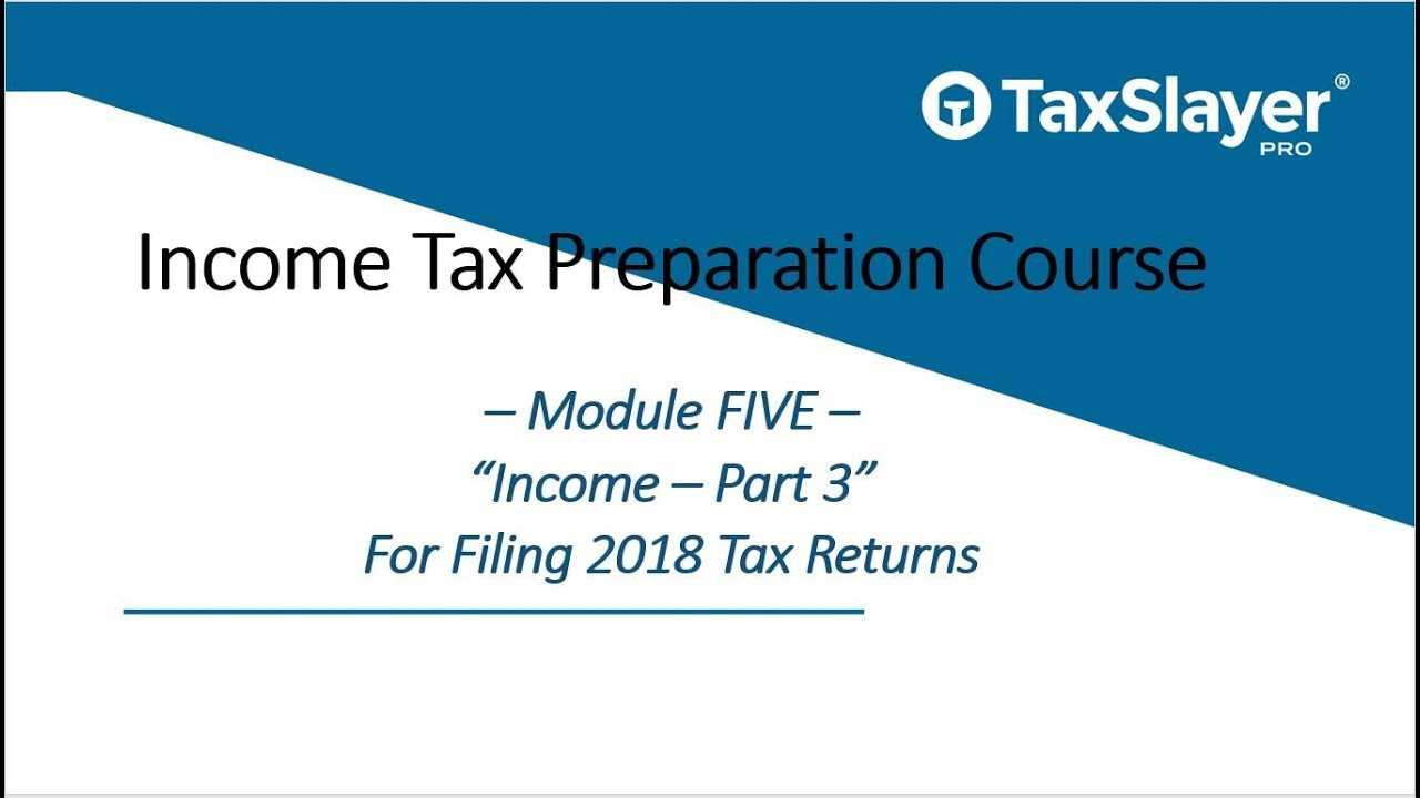 Schedule D Filing and Form 8949 - TaxSlayer Pro Income Tax Preparation Course (Module 5, Part 3)