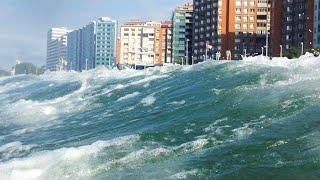 NASA Captures World's Biggest Tsunami Waves Heading Towards Land