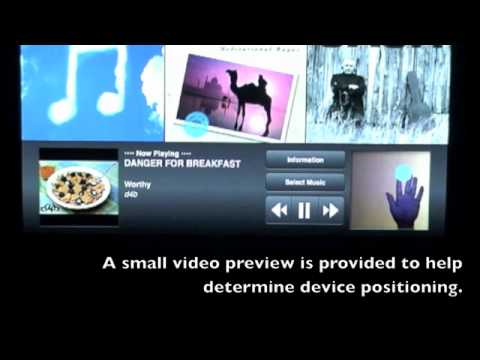 SkyPod - Touch Free control of your iPod / iPhone / iPad