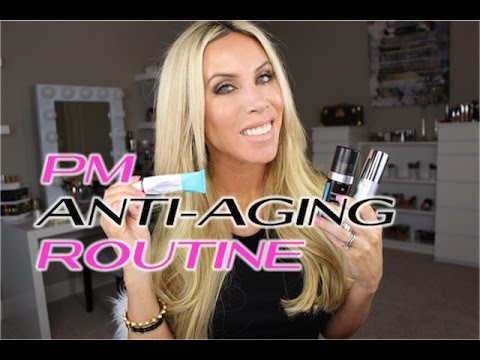 Anti-Aging Skincare NIGHT Routine | Retin-a, Glycolics, Antioxidants!