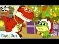 Baby Dinosaur Wanna See Santa Claus | OPENING PRESENTS! 🎁 |  Christmas Songs | Christmas | BabyBus