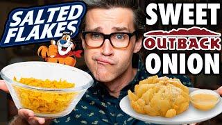 Salty Sweet Food vs. Sweet Salty Food Taste Test