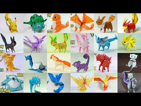 Top Paper Pokemon - Origami Pokemon 2014 - 2017