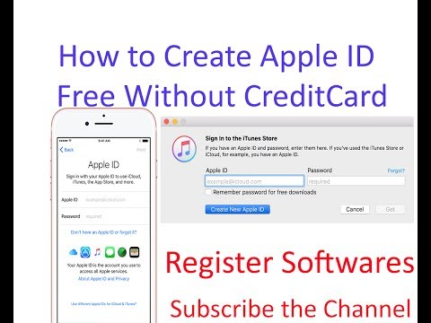 how to create apple id free without credit card