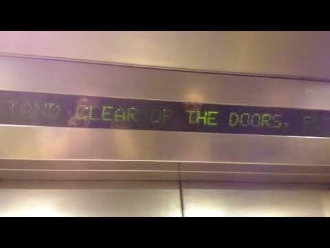 KONE lift at North Greenwich underground station with Tyler.M.2008
