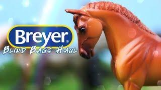 Unbox Daily: BREYER Blind Bag MEGA HAUL   Mini Whinnies Surprise & Horse Crazy Surprise
