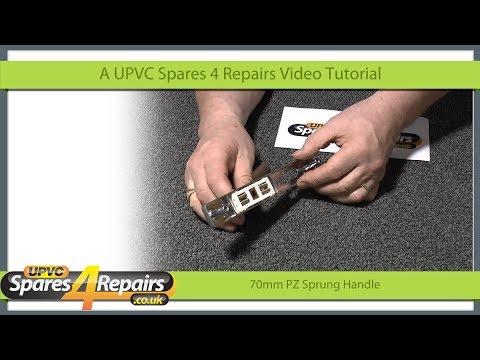 New 70PZ Sprung Door Handle for Upvc Doors