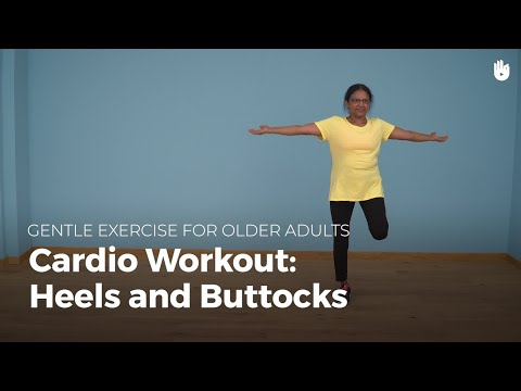 Aerobic Exercise: Butt Kicks | Exercise for Older Adults