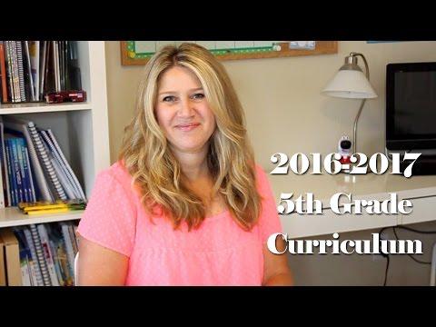 Tip Tuesday: 2016-2017 5th Grade Homeschool Curriculum