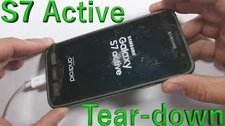 Galaxy S7 Active Teardown - Screen Replacement - Battery Fix - Charging Port Repair