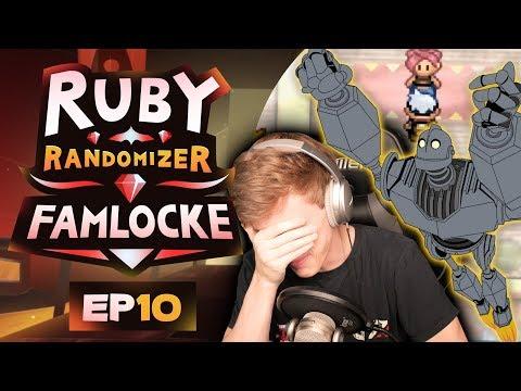 SAD TIMES | Pokemon Ruby Randomizer Famlocke EP 10