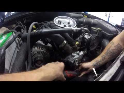 04 Jeep water pump replacement 4.0L