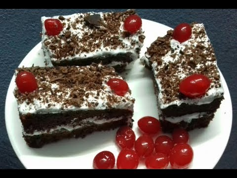 How To Make Cake In Pressure Cooker - Without Oven -Black Forest Cake Recipe /No.64