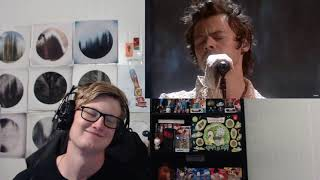 Harry Styles - Falling Live From The BRIT Awards (Reaction)