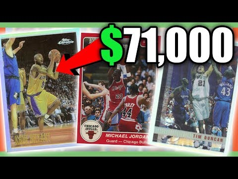 RARE BASKETBALL CARDS WORTH MONEY - MOST EXPENSIVE NBA CARDS!!