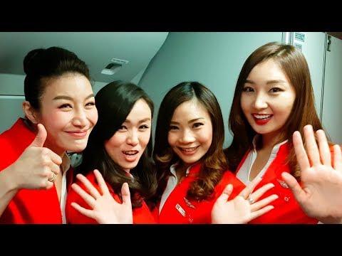 Air Asia X Low Cost Premium Flatbed