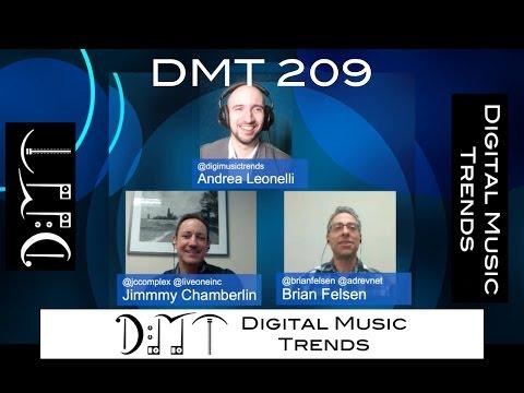 DMT 209: YouTube Music Key, AppleBeats, VEVO, Gracenote, Bandcamp, LiveOne, Adrev