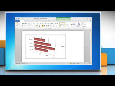 How to Add Titles in a Bar Graph in Word 2010