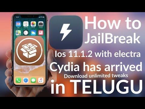 NEW iOS 11 - 11.1.2 JAILBREAK With CYDIA Released! (iPhone, iPad, iPod) Electra Jailbreak in Telugu