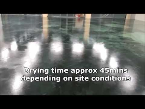How to apply liquid damp proof and self level a floor